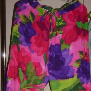 Jams World lounge pants in Garden passion sz. XL